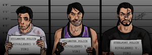 Could you sign your mugshot? by SophiaDragonMaster