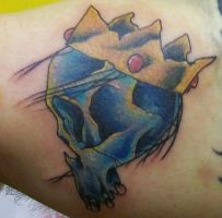 Skull and Crown by Dripe
