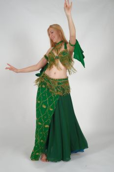 Belly Dance Movement - Hip Twist by Danika-Stock