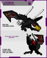 CYBERTRONIAN LASERBEAK by F-for-feasant-design