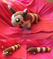 Furret Plush by xxtemporaryinsanity