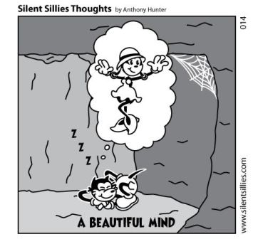 Silent Sillies Thoughts - 014 by JK-Antwon