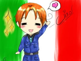 Chibi Italy~ by mell1you0