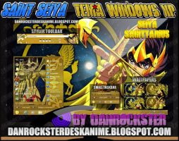 Seiya Sagittarius Theme Win XP by Danrockster