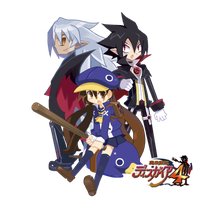 Disgaea 4 Trio by PhuiJL
