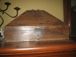 Old Box by Artemis-Stock