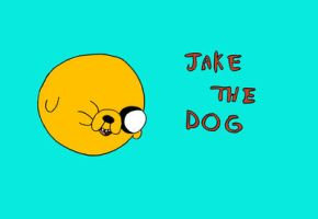 Jake the dog ! by JellyLoveHeart
