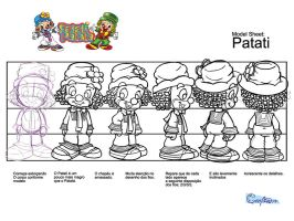 Model sheet Patati by ajurkevicius