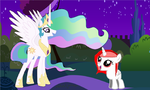 OMG is celestia!!! by Ponys-on-Ooo