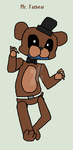 Mr. Fazbear (FNAF Music Challenge 12) by tails-fangirl