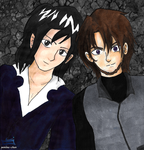Two of Four by yamina-chan