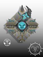 Uzza Xaphan's ghost shell by Hellmaster6492