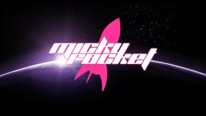 Micky Rocket Space Wallpaper by Phileas100
