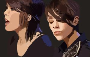 Tegan and Sara 2 by dodo-totallypap