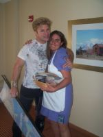 Me with Vic Mignogna by Shadow-Wing456