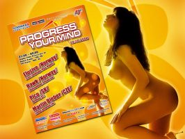 Flayer - Progress Your Mind by CharlieGraphics