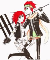 Lavi and Kei by 8malkuthvendetta8