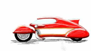 future motorcycle by dblaker1