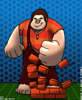 Wreck-It Ralph by BluebottleFlyer