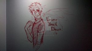 Never back down by AndyStarfish
