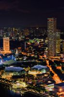 A night view from Skypark by Shooter1970