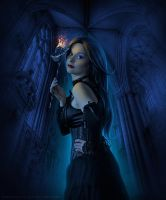 Stained Glass Masquerade by MissMalefic