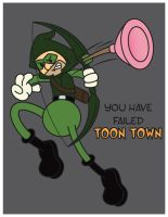 Arrow - Toon Town by JK-Antwon