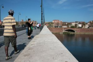 on the bridge by Polyesterday