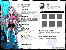 Monster High OC: Octavia by fjorgael