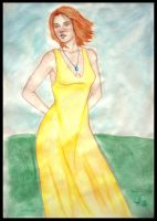 the yellow dress by schwarzdrossel