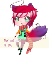 Kemonomimi Adoptable 06 set-price -  CLOSED by MeloMushi