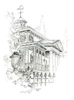 Disneyland Studies // The Haunted Mansion by Junryou-na-Kokoro