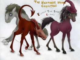 Kidnap The Sandy Claws by becka92