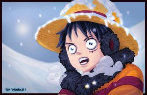 Luffy by Yahik0