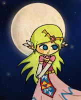 Moonlight Zelda by Jrynkows