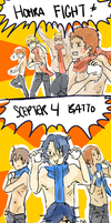 THE ULTIMATE BATTLE OF MEN by katoshin