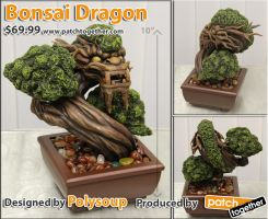 Bonsai Dragon by Polysoup