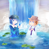 touhou water children by miicha-desu