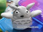 My Neighbor Totoro Plushie by Dragon-Celtic-Chan