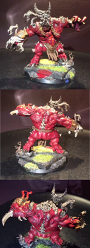 Supper Legit khorne Daemon Prince by Battleseal