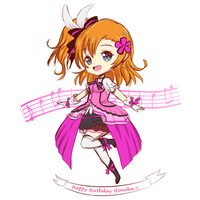 Happy Birthday Honoka! by SuikaSas