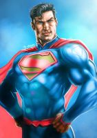 Superman: Man of Steel by Grange-Wallis