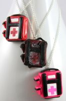 Left 4 Dead Health Packs by NeverlandJewelry