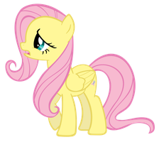 "Fluttershy's ""eh"" Face by Rayne-Feather"
