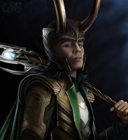 Loki by eleathyra