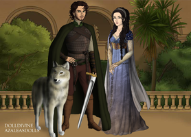 GoT Scene Maker: Silmarillion: Beren and Luthien by Saphari
