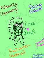 I suck at drawing countries D: by Kandiesquirrel