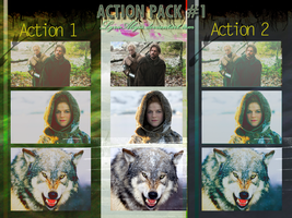 Action Pack 1 by LyraAbyss