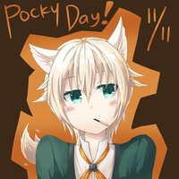 Pocky Game? by hanetsu