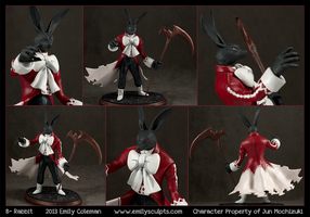 Commission : Pandora Hearts, B-Rabbit by emilySculpts
